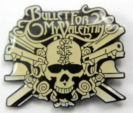 Bullet For My Valentine - 'Logo' Enamel Pin Badge